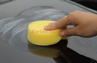 Wholesale Car Care Cleaning X Car Foam Waxing Polishing Washing Sponge Pad Applicator