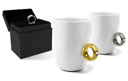 Wholesale Crystal Items Wholesale China - Wholesale-2012 Free Shipping New Novelty items,Elegant Austria Crystal Diamond Ring Ceramic Cup, Valentine's Gift Mugs, Cute Couple Mugs