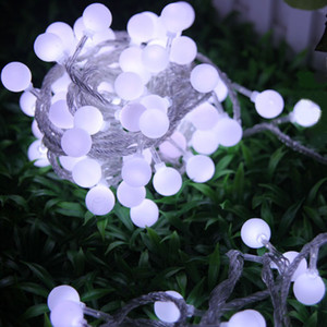 Wholesale green led flashlight bulbs resale online - 100 LED Bulb light m ft LED String Lights Flashlight Christmas ornament Shop window decoration item light strings Strip