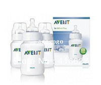 Wholesale Baby Bottles Pack - Original AVENT Baby Feeding Bottle   Nursing Bottle   Milk Bottle Feeding 9oz 260ml 2 Piece   Pack Brand New