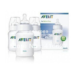 Wholesale Pack Milk - Original AVENT Baby Feeding Bottle   Nursing Bottle   Milk Bottle Feeding 9oz 260ml 2 Piece   Pack Brand New