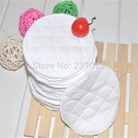 Wholesale Nursing Pad Washable - 20Pcs Feeding Washable Reusable Breast Nursing Pads Soft Absorbent Breastfeeding Free Shipping