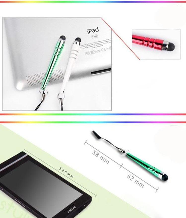 La pluma del tacto de la aguja de la capacidad del béisbol de la venta al por mayor / para la pluma del tacto del teléfono móvil del iphone ipad etc para Samsung htc para enciende