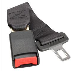 Wholesale Pcs Seats - ONE pcs Black Car Vehicle Seat Belt Extension Extender Strap Safety Buckle