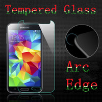Wholesale Glass Screen For Galaxy S3 - 2.5D Tempered Glass Screen Protector Samsung Galaxy S7 S5 S4 S3 Note 5 4 3 S5 S4 S3 Mini Explosion Proof