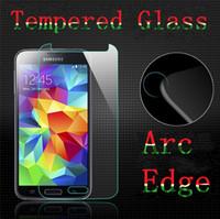 gehärtetes glas für s4 großhandel-2.5D Hartglas Displayschutzfolie Samsung Galaxy S7 S5 S4 S3 Hinweis 5 4 3 S5 / S4 / S3 Mini Explosionsgeschützt
