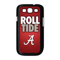 Wholesale Galaxy S3 Unique Cases - NCAA Alabama Crimson Tide Roll Tide Unique Hard Customized Case for SamSung Galaxy S3 I9300 S4 I9500 Note 2 N7100