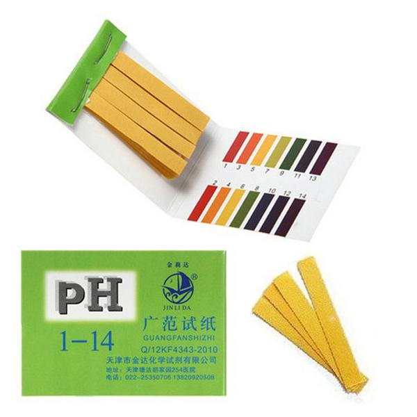 80 bandes gamme complète pH acide alcalin 1-14 test indicateur papier test décisif livraison gratuite