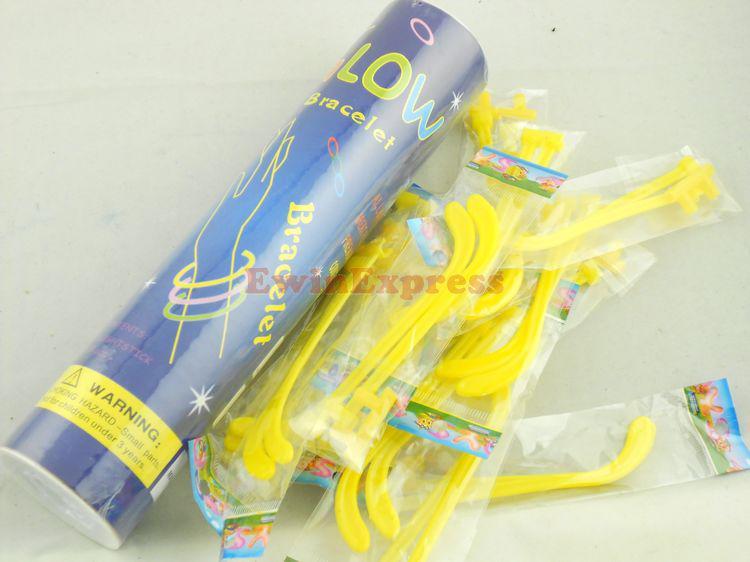 Andere Ereignis-Partei-Versorgungsmaterialien 50X Glühen-Stock-Augengläser sortieren Farbe beleuchten Partei-Kostüm-Brillen freies Verschiffen