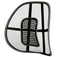 Wholesale Lumbar Support Pad Cushion - Wholesale-Free Shipping New Car Seat Chair Massage Back Lumbar Support Mesh Ventilate Cushion Pad Black,Mesh Back Lumbar Cushion wholesale