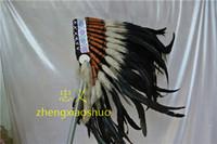 el envo libre pc negra de la india trajes tocado tocado de plumas guerra bonete de plumas originales trajes americanos