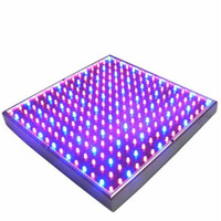 Wholesale 225 Led - Led Grow Lamp 225 LED Hydroponic Plant Grow Light Panel Red Blue 15W LED Plant Grow Lights 900lm 225 LEDs Panel Lights 110-220V Freeshipping