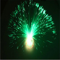 Wholesale Led Fiber Optic Christmas Trees - Starry Night Light Colorful Flower Fiber Lamp LED Fiber Optic Light Night Lamp Fiber Colorful Holiday DIY Ceiling Light Party Christmas Gift