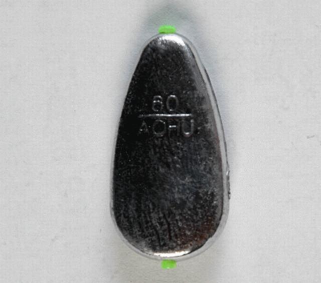 ¡Caliente! 10 UNIDS plomo plomada 20g-120g tubo de plástico dentro de la línea de Pesca no daña el tipo es completa Alta calidad