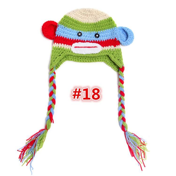 Compre Nuevo Diseño Del Búho 30 EarFlap Sombrero Del Bebé Del ...
