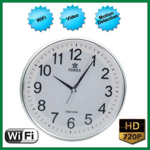 2018 Spy Wall Clock Camera Hd 720p Wifi Clock Dvr Camera With Motion