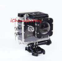 "Wholesale Sport Camera Hd Underwater - Factory Price Waterproof Camera SJ4000 1080P Full HD Sports DV 1.5"" LCD Screen Camera Diving 30M Underwater   Helmet   Car DVR Recorder"