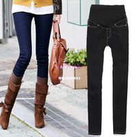 Wholesale Maternity Pants Skinny Jeans - Promotion 2014 New Maternity Jeans Pants For Pregnant Women Plus Size Clothing Pregnancy Clothes Motherhood 4sizes b14 19812