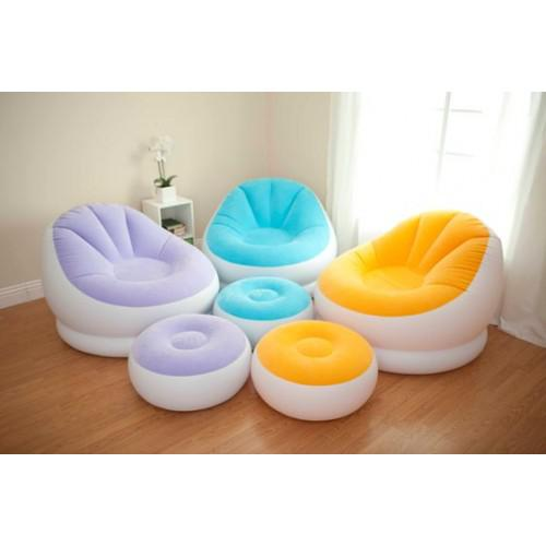 intex inflatable furniture. 2018 Intex 68572 Inflatable Cafe Chaise Chair With Hand Pump And Ottoman Sofa Beanless Bag Chair, Free Express From Elevation, $70.36 | Dhgate.Com Furniture S