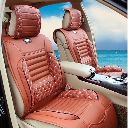 Auto Seat Cover Universal Car Seat Covers Black Beige Grey Orange ...