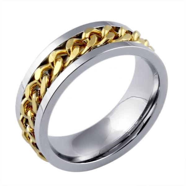 MenS Rock Punk Rings Stainless Steel Rings For Men Jewelry High