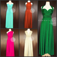 Wholesale Long Ruched Halter Gown - Free Shipping Ruched Halter Or Other Neckline Chiffon Full Length Long Cheap Bridesmaid Dresses Sexy Wedding Party Dress Prom Gowns