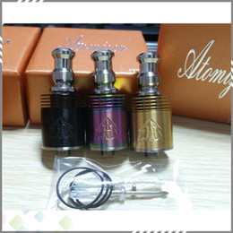 Wholesale Two Kinds - Best Tobh ATTY V2.5 Rebuilable Atomzier 18650 and 26650 two kinds of Tobh Atty Clone Tobh Atty V2.5 Tank with high quality DHL Free