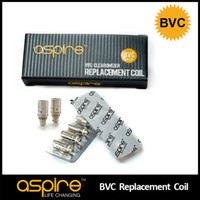 Wholesale Wholesaler Electronic Cigarette Products - Newest Product 100% Authentic Aspire BVC Coil Bottom Vertical Coil Aspire Dual Coil Head Electronic Cigarette Core For Aspire BDC Atomizers