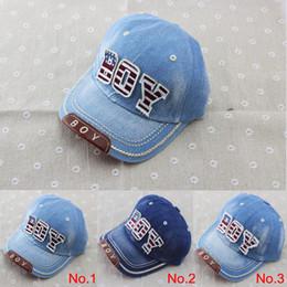 2019 cappello di estate del bambino delle ragazze 2014 nuovi berretti di cotone per bambini berretti da baseball per ragazzi cappelli di jeans estivi berretti per bambini berretti da baseball per ragazze 3-8 anni cappello per bambini cappello per bambini cappello di estate del bambino delle ragazze economici