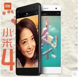 Wholesale Smart Phone 13mp 4g - Original New Xiaomi Mi 4 Quad Core 4G Smart Phone with 13MP camera 16GB ROM 3GB RAM 3G GPS WIFI 5.0 inch 1920x1080pixels Android 4.4 DHL EMS
