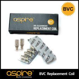 100% d'origine Aspire BVC tête de bobine électronique Atomiseur Cigarette Core E Fil de Cigarette Bas Bobine verticale E Cig Bobines Le plus récent produit 2014 ? partir de fabricateur