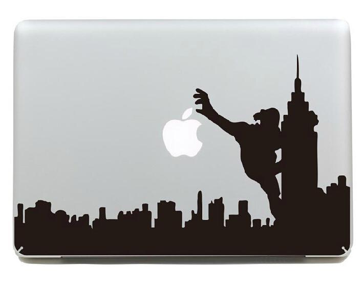 Syney Dubai Toronto New York City Skyline Creative Decals - Macbook air decals