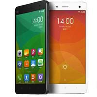 Wholesale Tri Sim Android 3g Smartphone - xiaomi Mi4 M4 LTE 4G Mobile Phone 3G RAM 16G ROM Snapdragon S801 Quad Core 2.5GHZ 5.0Inch IPS 1920*1080P OTG GPS Single Micro Sim Smartphone