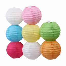 Wholesale Chinese Paper Lanterns Sale - HOT SALE Colorful Handmade Chinese Paper Lanterns For Wedding Party Halloween Christmas Decoration Colors Choose Choose ZWZ*10
