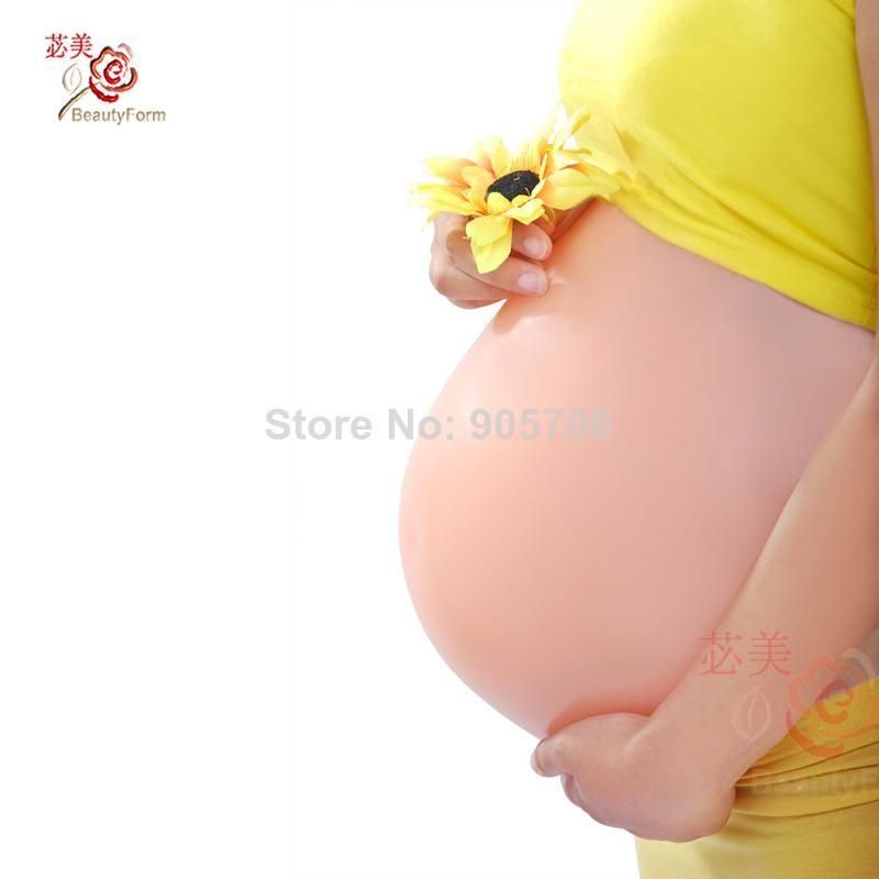 Männer Frauen Schwangerschaft Babybauch Silikonbauch Künstliche