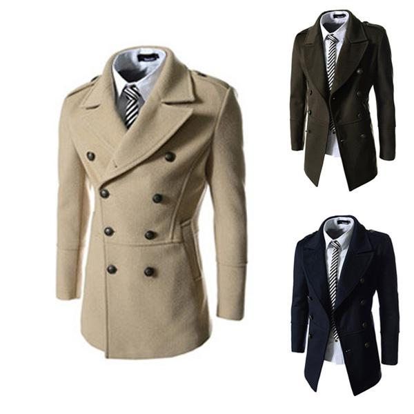 Discount Man Spring 2014 New Fashion Trench Coat Men Spring Long ...