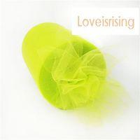 "Wholesale Apple Spool - 6""x100yd Spool Apple Green Tulle Rolls Tutu DIY Craft Wedding Banquet Fabric Decor"
