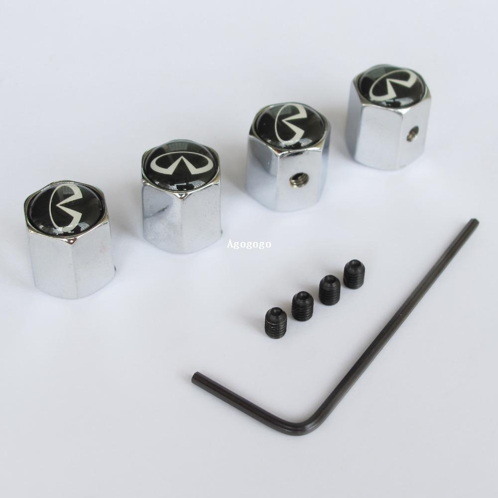 Universal Anti-theft Car Wheel Tire Air Pressure Valve Stems Cap Dust Cover WX