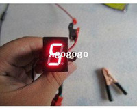 Wholesale Digital Universal Gear - Free shipping,Universal Red Digital led Gear Indicator for Motorcycle Moto
