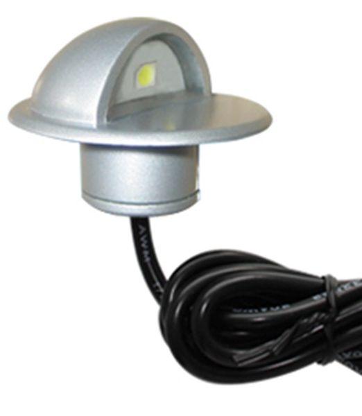 Su geçirmez Açık Havada LED Yeraltı Lambaları 1 W Merdiven için LED Inground Işık Adımları Koridor Kapı Bahçe Dekorasyon Aydınlatma 12 Işıklar / lot