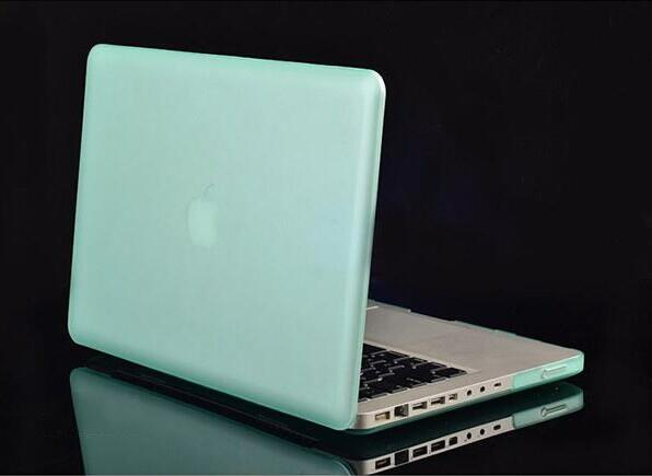 Macbook Laptop Netbook Frosted Matt Rubberized Front + Back Hard PC Case Cover for 11.6 Air 13 13.3 15.4 Pro Retina