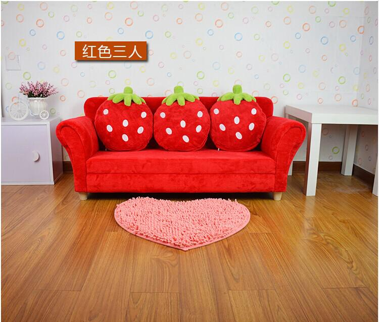 Fantastic 2019 Coral Velvet Children Sofa Chairs Cushion Furniture Set Cute Strawberry Style Couch For Kids Room Decor Christmas Birthday Gift From Jackylucy Andrewgaddart Wooden Chair Designs For Living Room Andrewgaddartcom