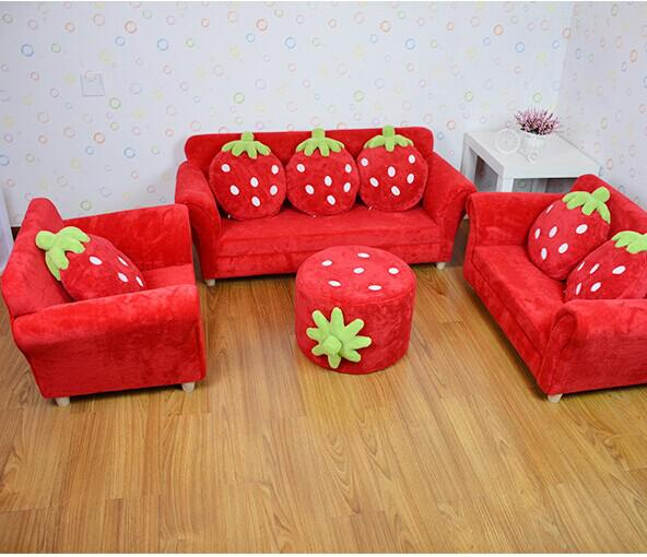 Peachy 2019 Coral Velvet Children Sofa Chairs Cushion Furniture Set Cute Strawberry Style Couch For Kids Room Decor Christmas Birthday Gift From Jackylucy Gmtry Best Dining Table And Chair Ideas Images Gmtryco
