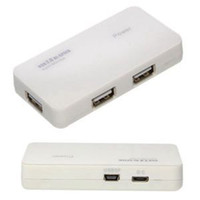 Wholesale Low Price New Laptops - Hot Selling High Speed 4 Port USB 2.0 Hub For Sale New Brand Micro USB DC port for PC laptop With Low Price