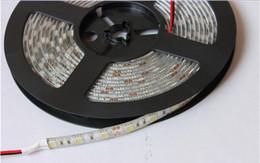 2019 luz de tira llevada rosh 5050 5m 300 llevó la luz de tira, 5M / lote RGB / single corlor blanco llevó la prenda impermeable flexible 5050 SMD 60led / m para la decoración casera
