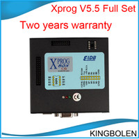 Wholesale Xprog Dhl - 2017 Xprog-m ECU programmer Newest V5.5 X-prog Box ECU Chip tuning tool support more than 450 units DHL Post free shipping