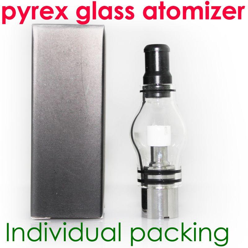 Globo di vetro atomizzatore vetro pirex serbatoio di cera erba secca sigarette a vapore penna vaporizzatore elettronici atomizzatori di vetro sigaretta glassomizer l'ego