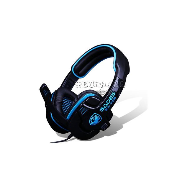 Top Qualität SA-708 Gaming Headset WCG Empfohlen Professionelle HD Kopfhörer Spiel headsets Mit Mikrofon für LOL DOTA CS CF Esports