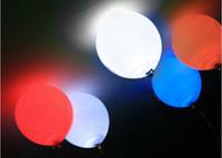 luzes de papel de balão led submersíveis venda por atacado-10pcs balão submersível lanterna de papel LED luz festa de casamento decoração floral
