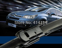 """Wholesale Wiper Blades Wholesale - Top quality car wiper blades for Citroen c4 c-Triomphe 28""""*24"""" Soft Rubber WindShield Wiper blade 2pcs PAIR,Free shipping"""